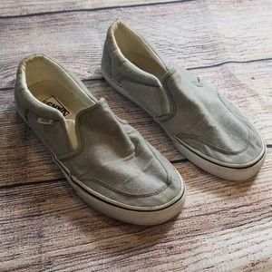 Vans 8 gray shoes